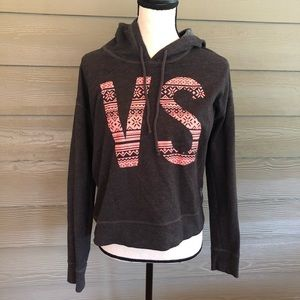 Victoria secret VS Cropped Hoodie  Pink Pullover